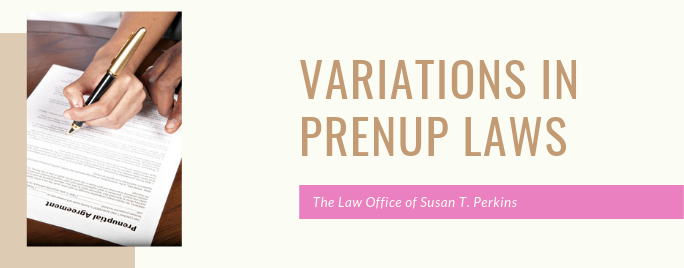 Variations in Prenup Laws (1)