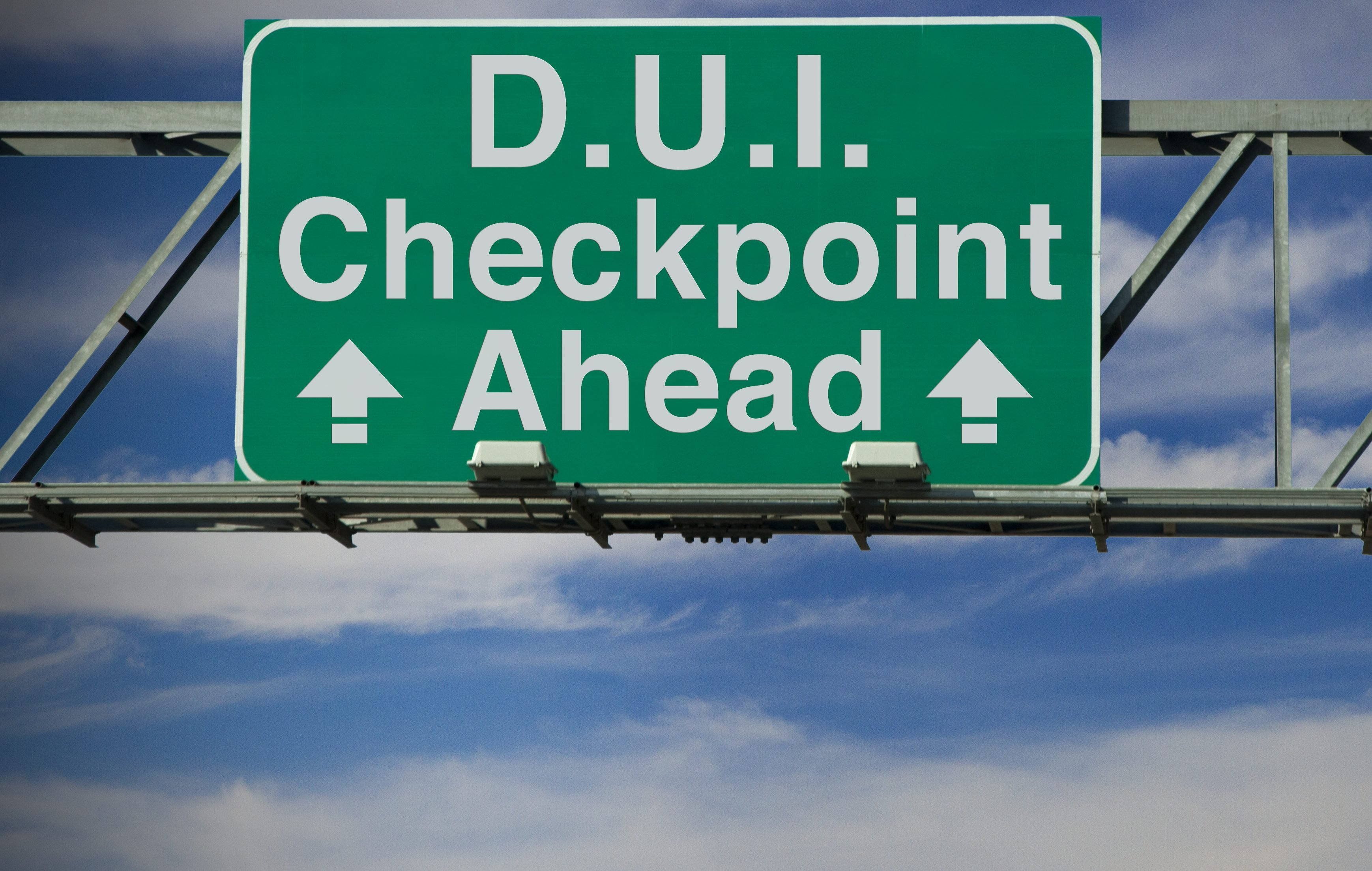 dui checkpoints for pot